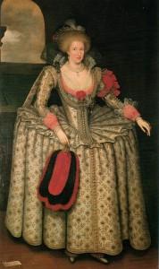 Anna av Danmark 1574-1619 Drottning av Storbritannien